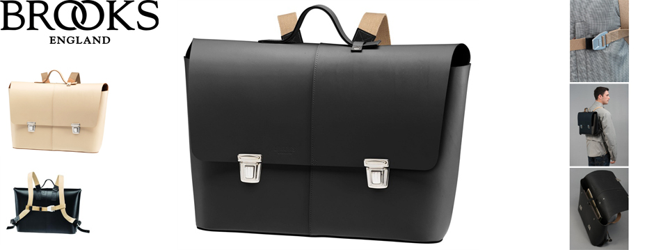 Maletin - Brooks Eton Leather Satchel