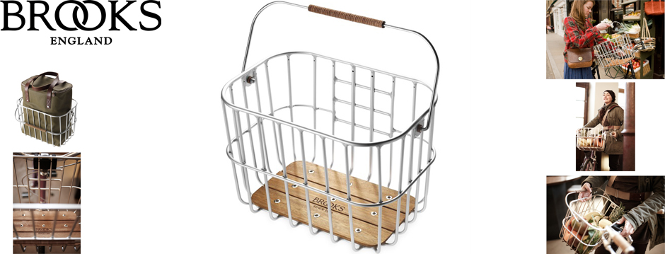 Cesta - Brooks Hoxton Wire Basket