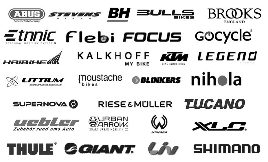 Trabajamos con las mejores marcas